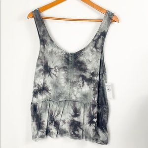 American Eagle Soft and Sexy Tie Dye Tank Large